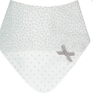 Bandana Baby Bib by House of Bibs. Say with a Bow Collection