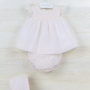 Pink Top With Matching Bloomer
