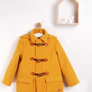 yellow duffel