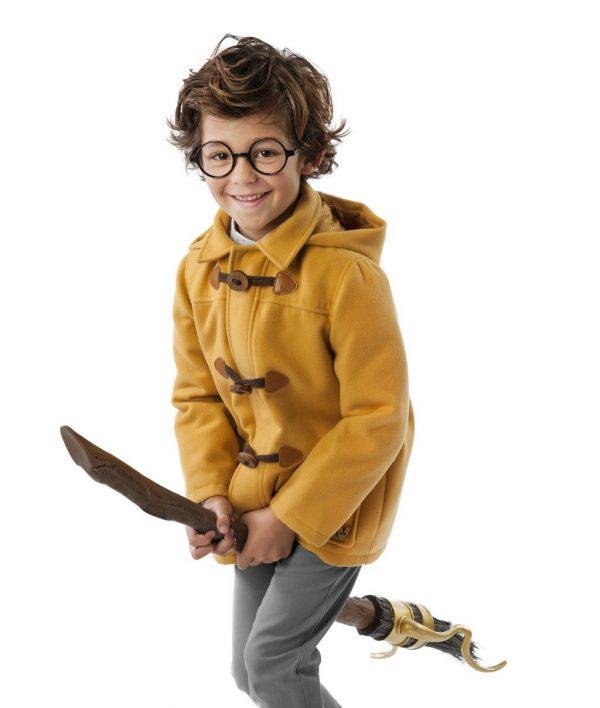 yellow duffel coat. www.thebabycloset.ie