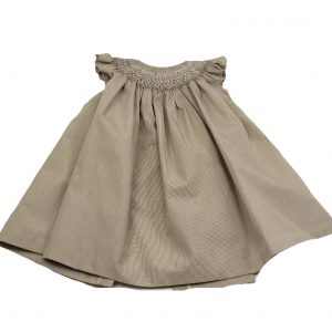 Julia handmade smock dress. Made with love in Spain. www.thebabycloset.ie