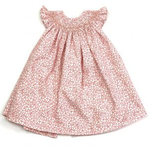 handmade smocked baby dress , perfect for any special occasion. www.thebabycloset.ie