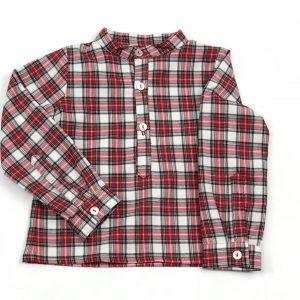 tartan shirt. www.thebabyclsoet.ie