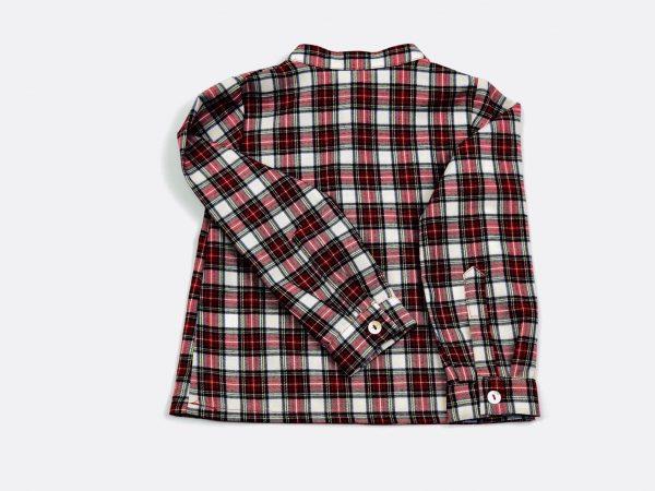 tartan shirt. www.thebabycloset.ie