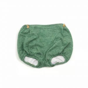 green bloomer . www.thebabycloset.ie