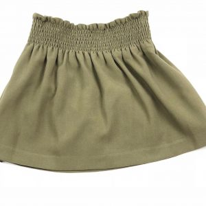 green skirt . www.thebabycloset.ie