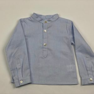 simon baby blue shirt . www.thebabycloset.ie