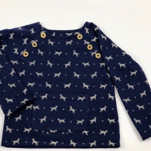 dog print jumper . www.thebabycloset.ie