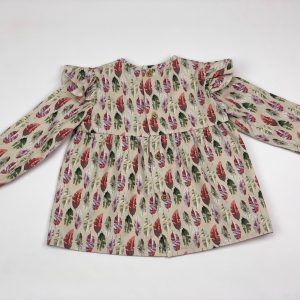 sian feather baby girl shirt . www.thebabycloset.ie