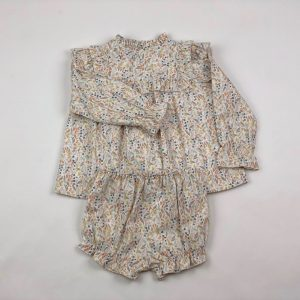 floral baby set .www.thebabycloset.ie