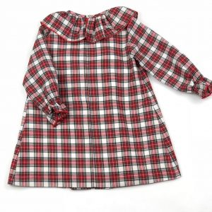 tartan dress . www.thebabycloset.ie