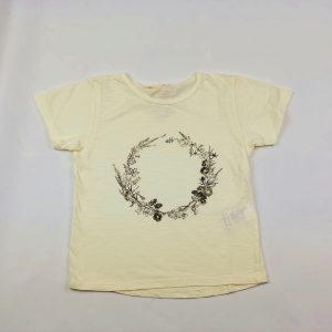 floral crown tshirt. the perfect girls tshirt. www.thebabycloset.ie